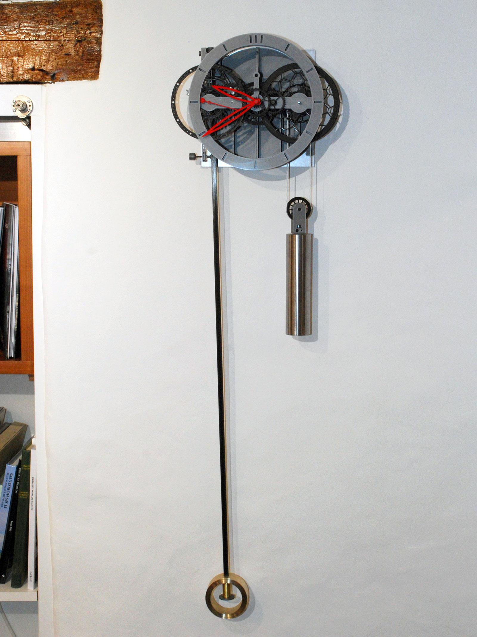 Ingénieur du Temps 3D printed pendulum clock 4