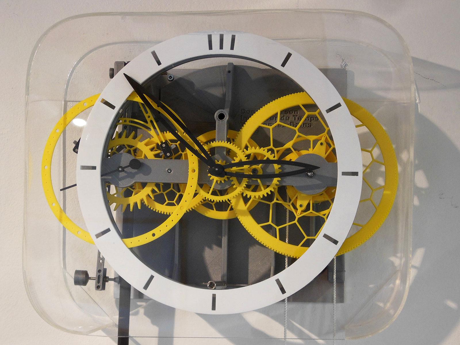 Ingénieur du Temps 3D printed pendulum clock 7