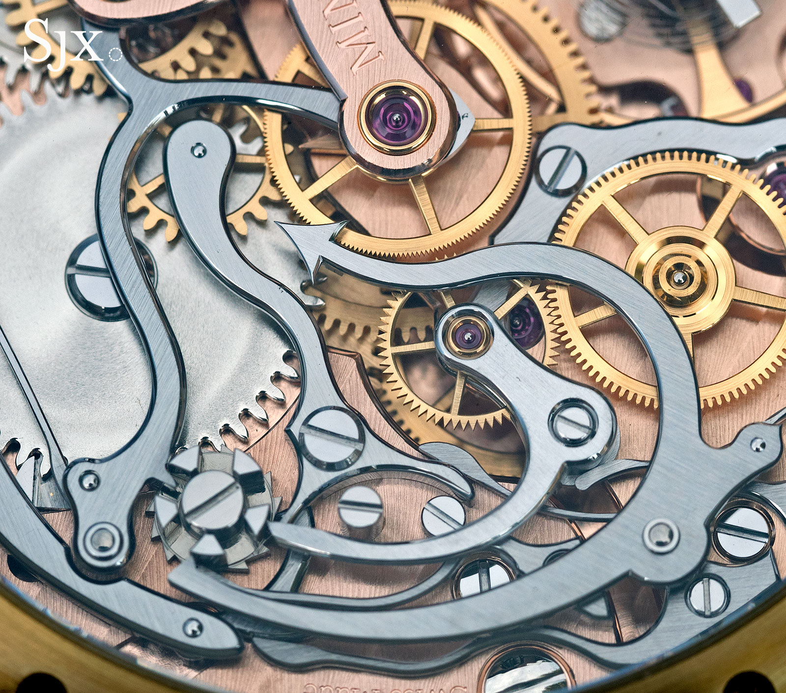 Montblanc 1858 Chronograph Tachymeter Salmon Bronze 6