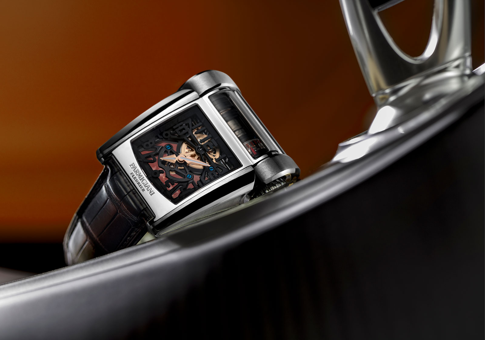 Parmigiani Bugatti Type 390 Chiron watch 1
