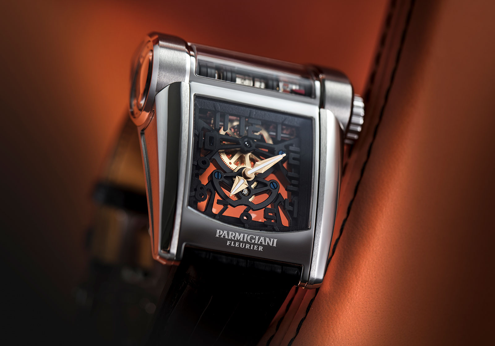Parmigiani Bugatti Type 390 Chiron watch 2