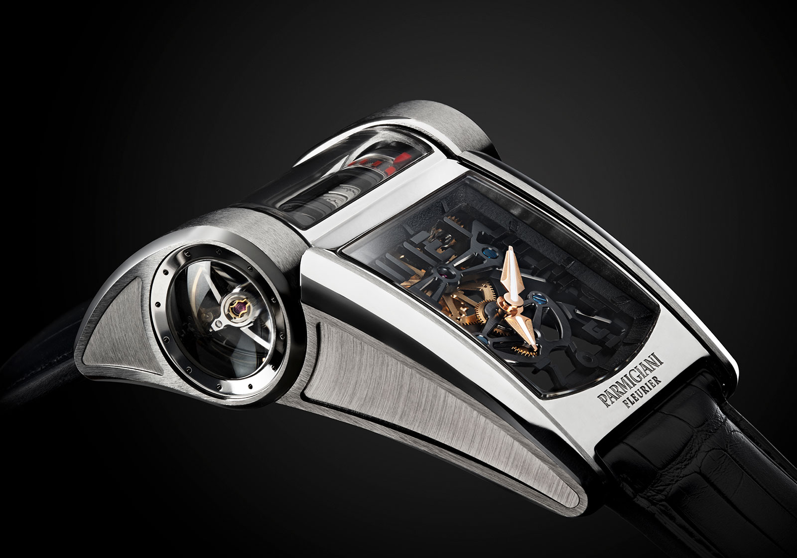 Parmigiani Bugatti Type 390 Chiron watch 3