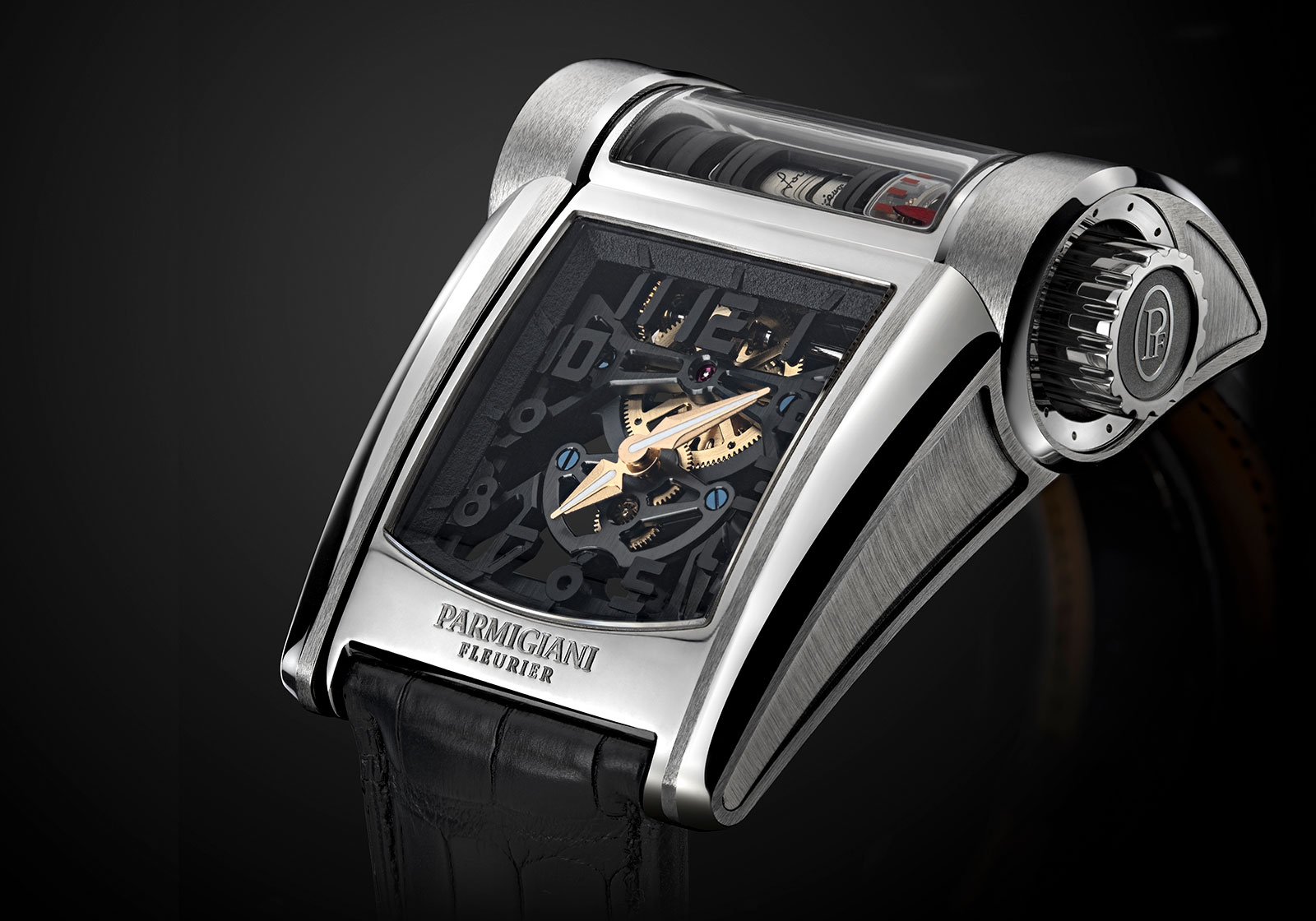 Parmigiani Bugatti Type 390 Chiron watch 4