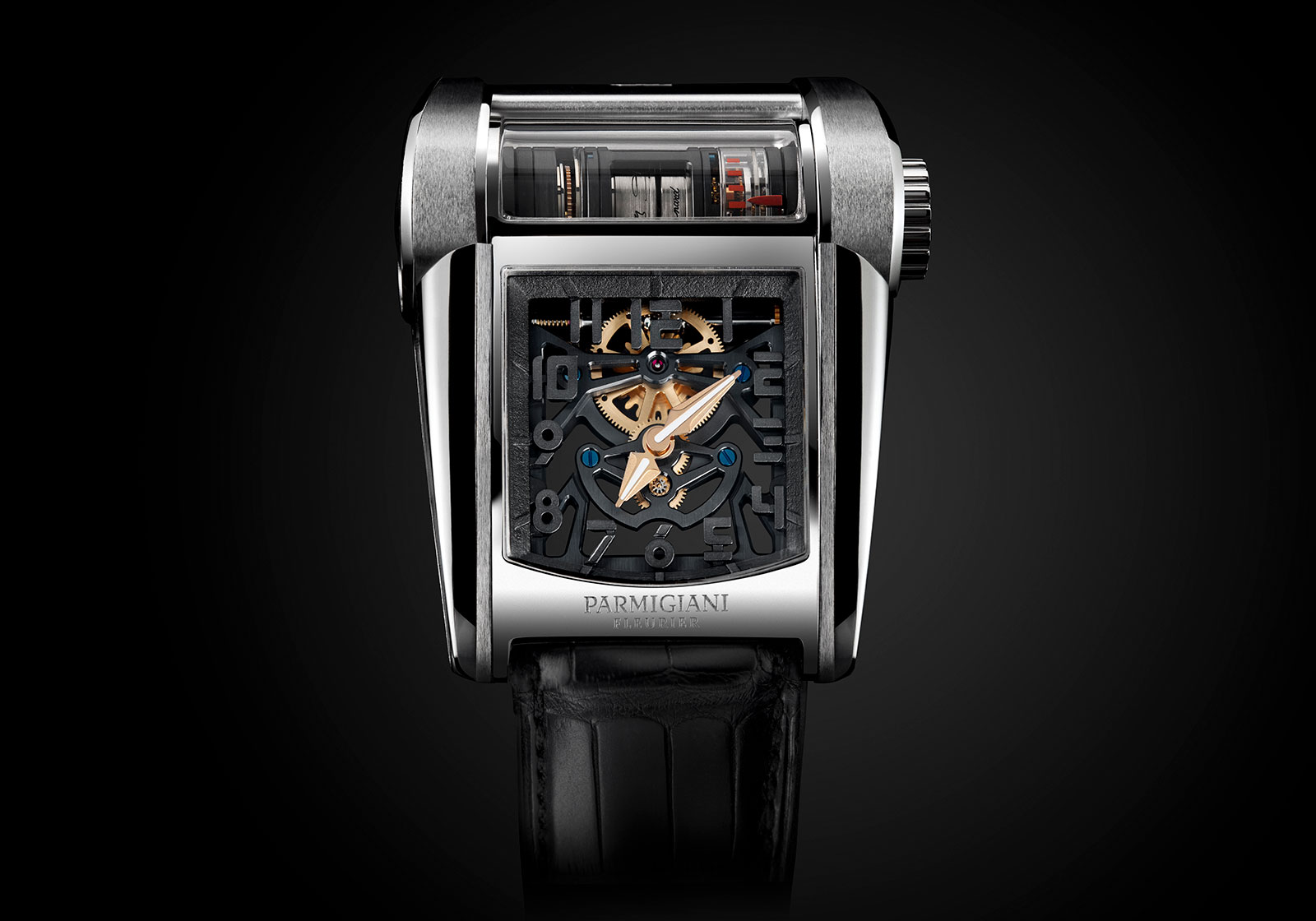 Parmigiani Bugatti Type 390 Chiron watch 6