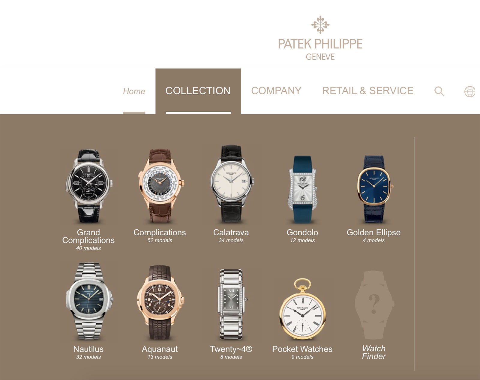 Patek Philippe new website 2017 2