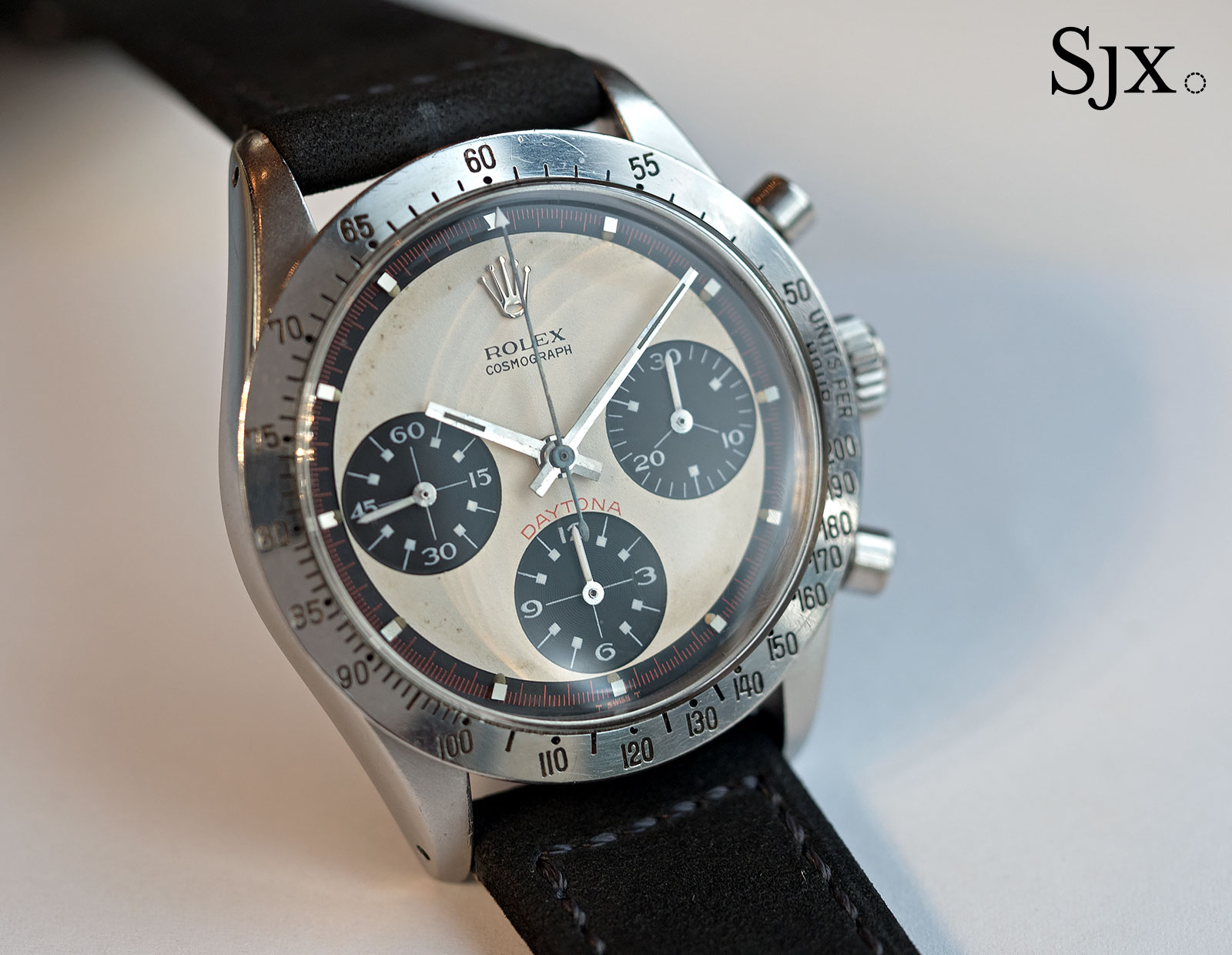 Hands On With Paul Newman S Very Own Paul Newman Daytona Sjx Watches