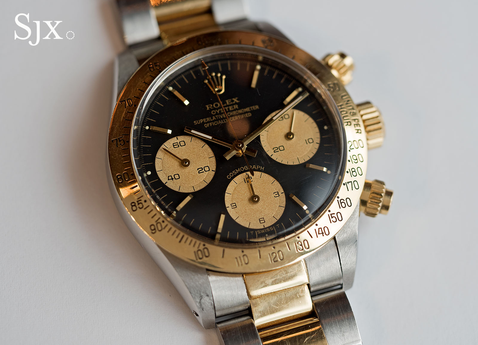 Phillips Rolex Daytona ref. 6265 two-tone 1