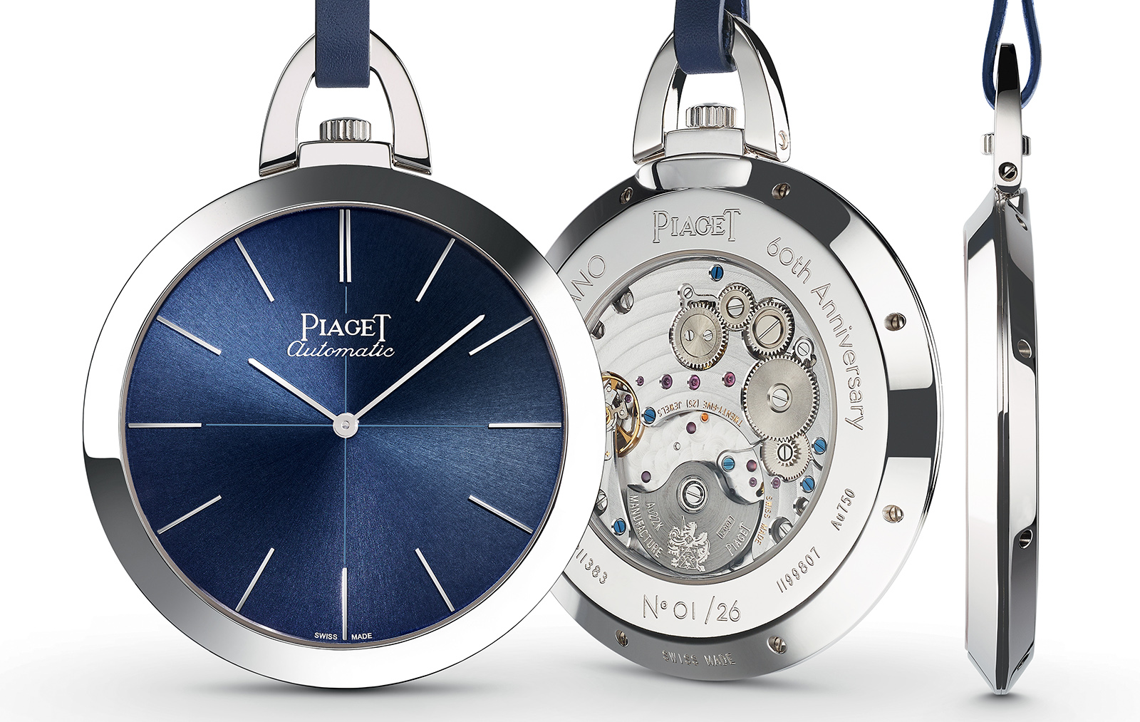 Piaget Altiplano 60th Anniversary Pocket Watch 1