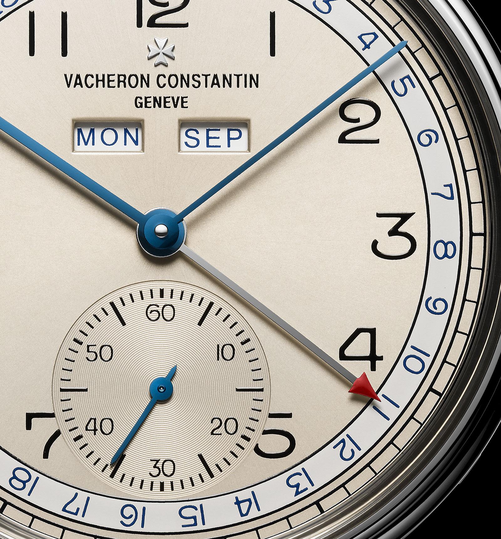Vacheron Constantin Historiques Triple calendrier 1942 steel 3
