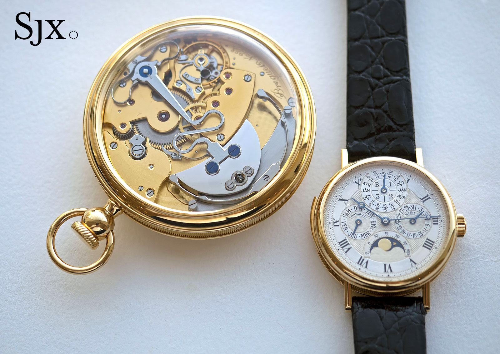 Breguet Souscription set Christies yellow gold
