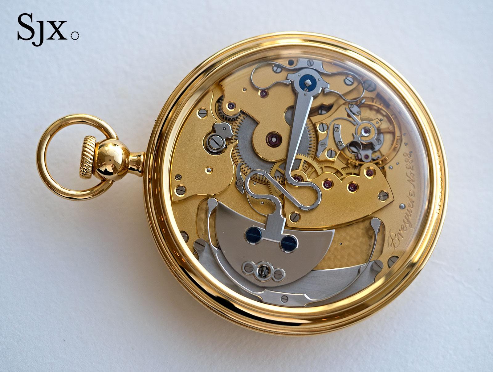 Breguet Souscription set pocket watch 1