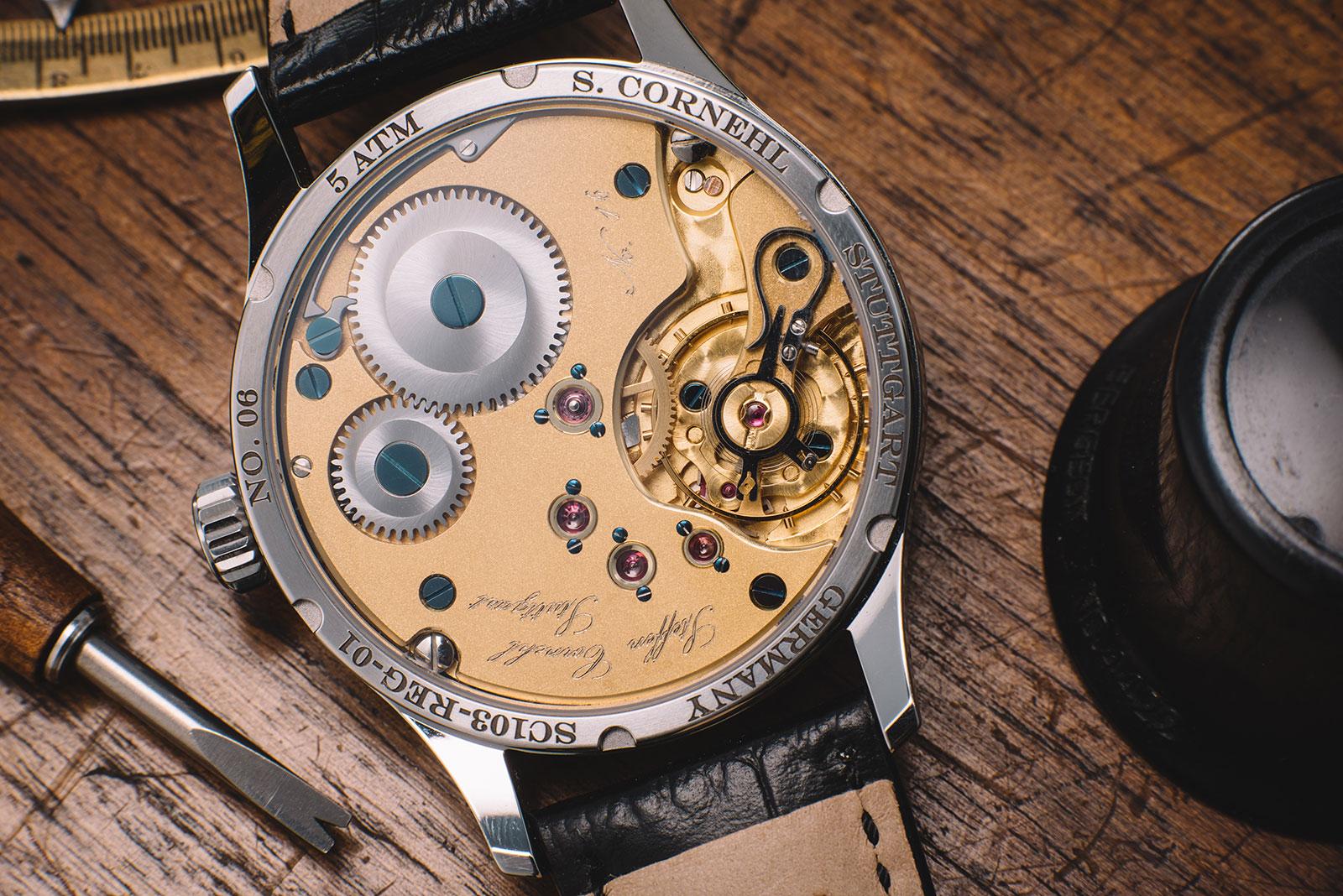 Cornehl Regulator SC1 watch 4