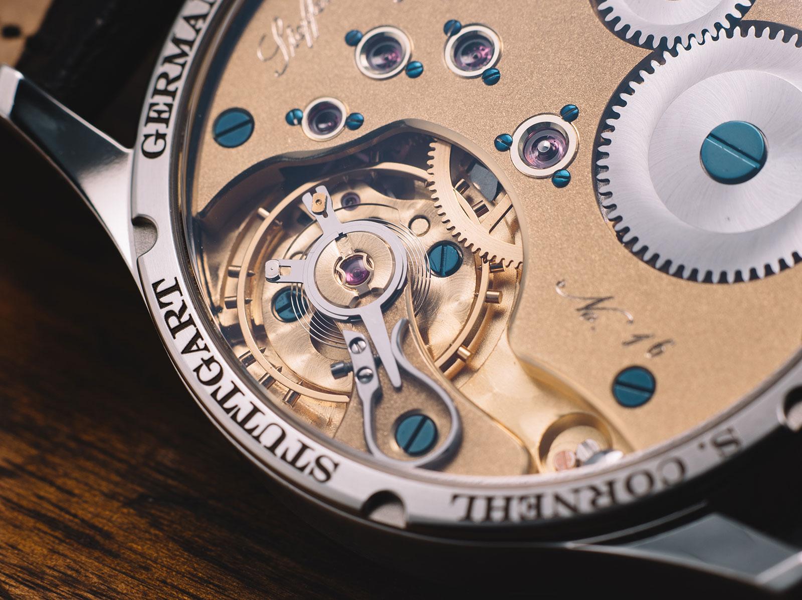 Cornehl Regulator SC1 watch 5