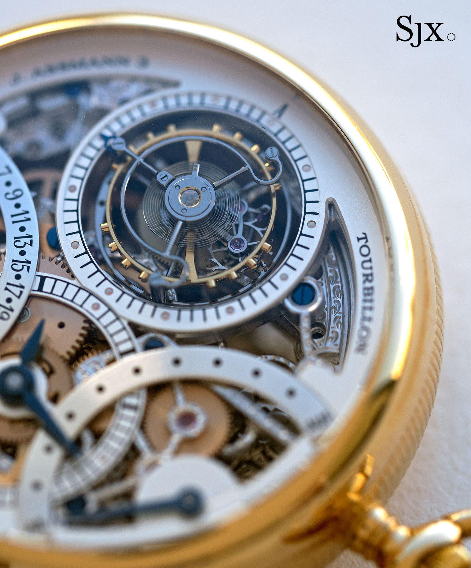 Glashutte Julius Assman 3 tourbillon 2