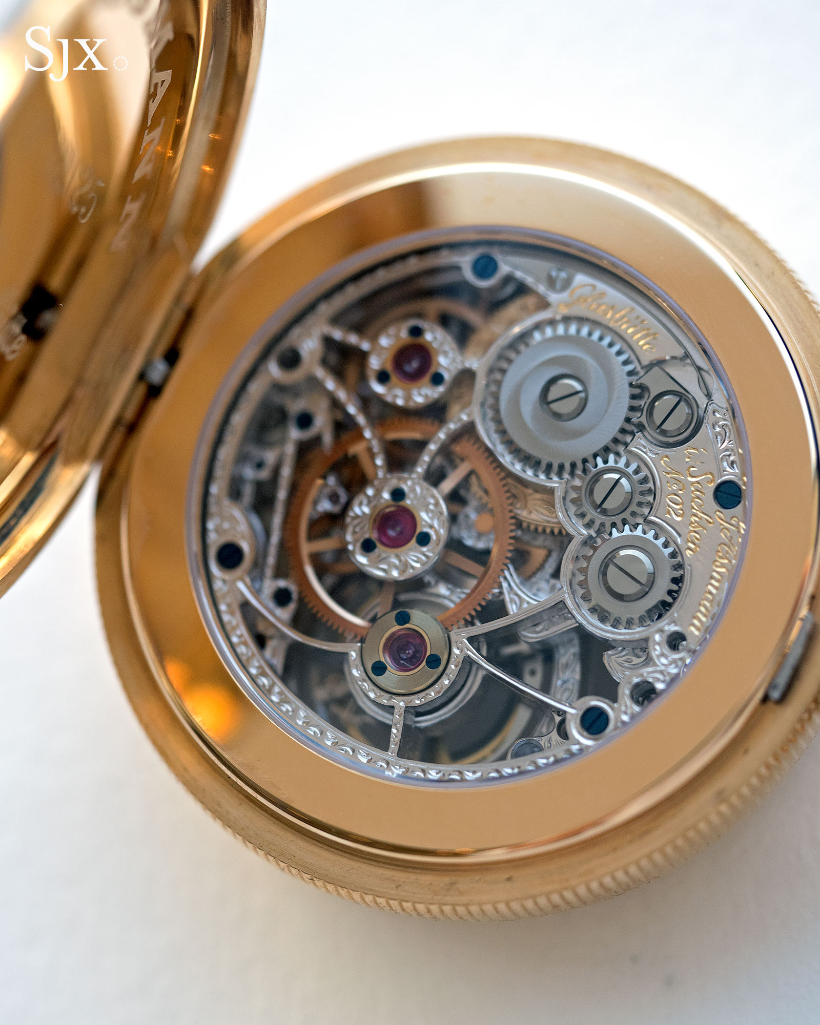 Glashutte Julius Assman 3 tourbillon 5