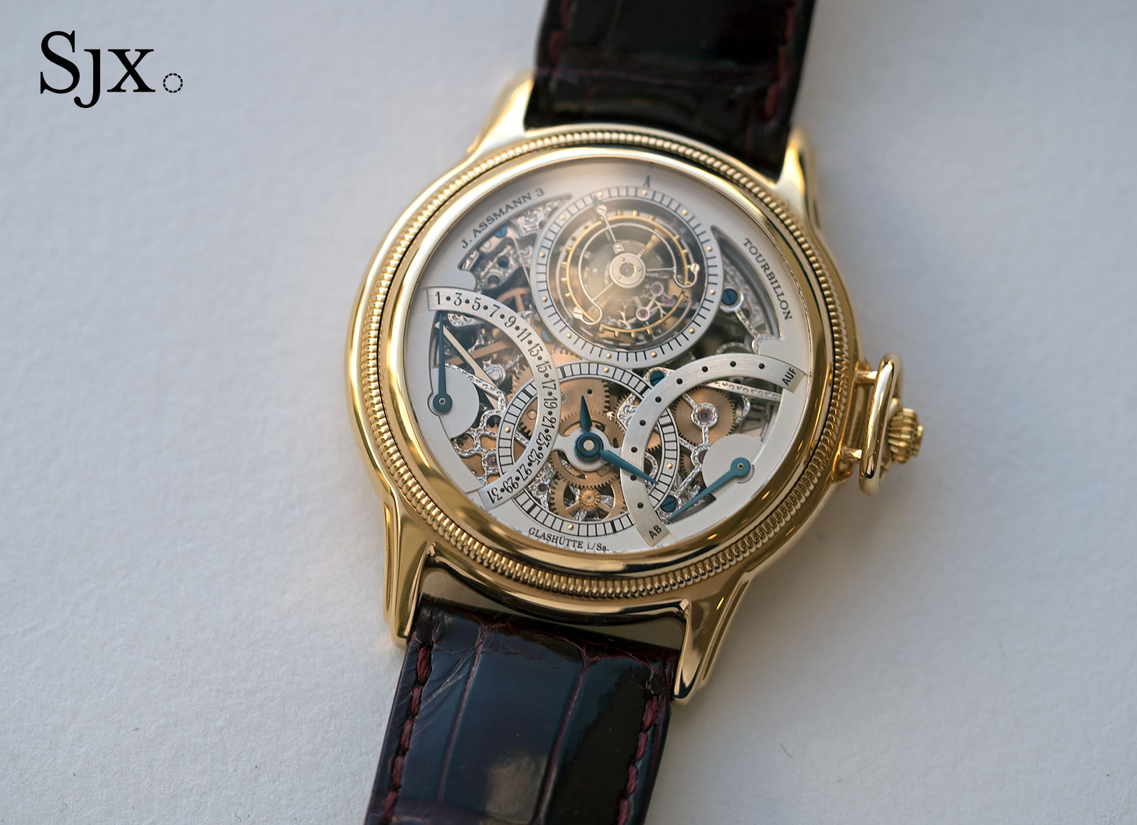 Glashutte Julius Assman 3 tourbillon 6