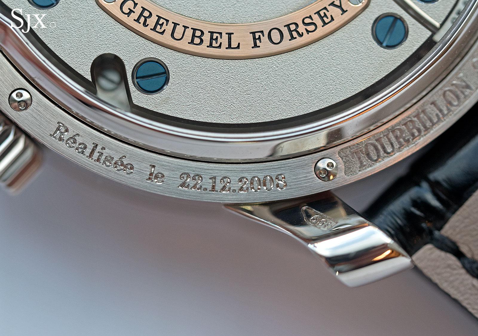 Greubel Forsey Tourbillon 24 Secondes Jean-Claude Biver 6