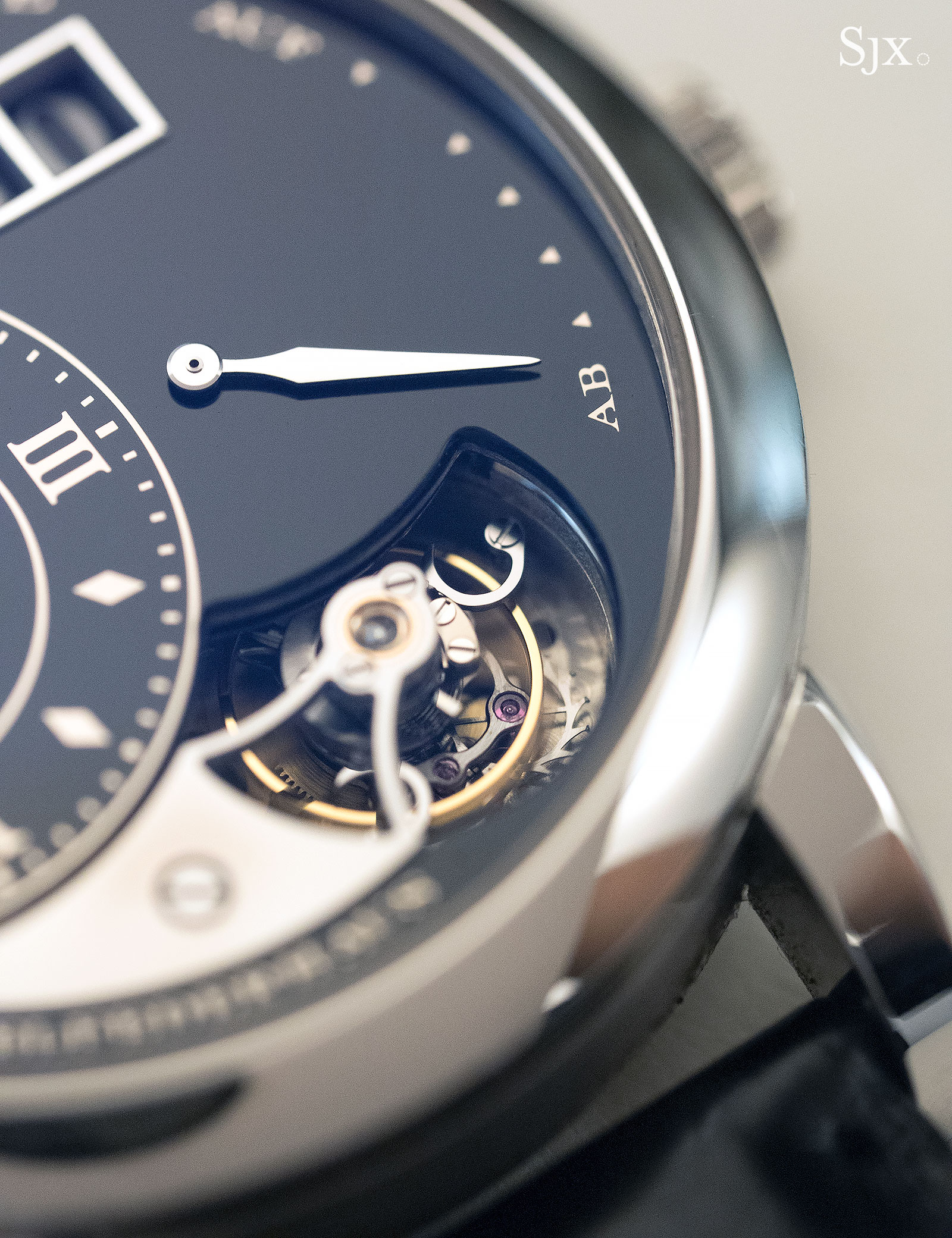 Lange 1 Tourbillon Handwerkskunst Phillips 2