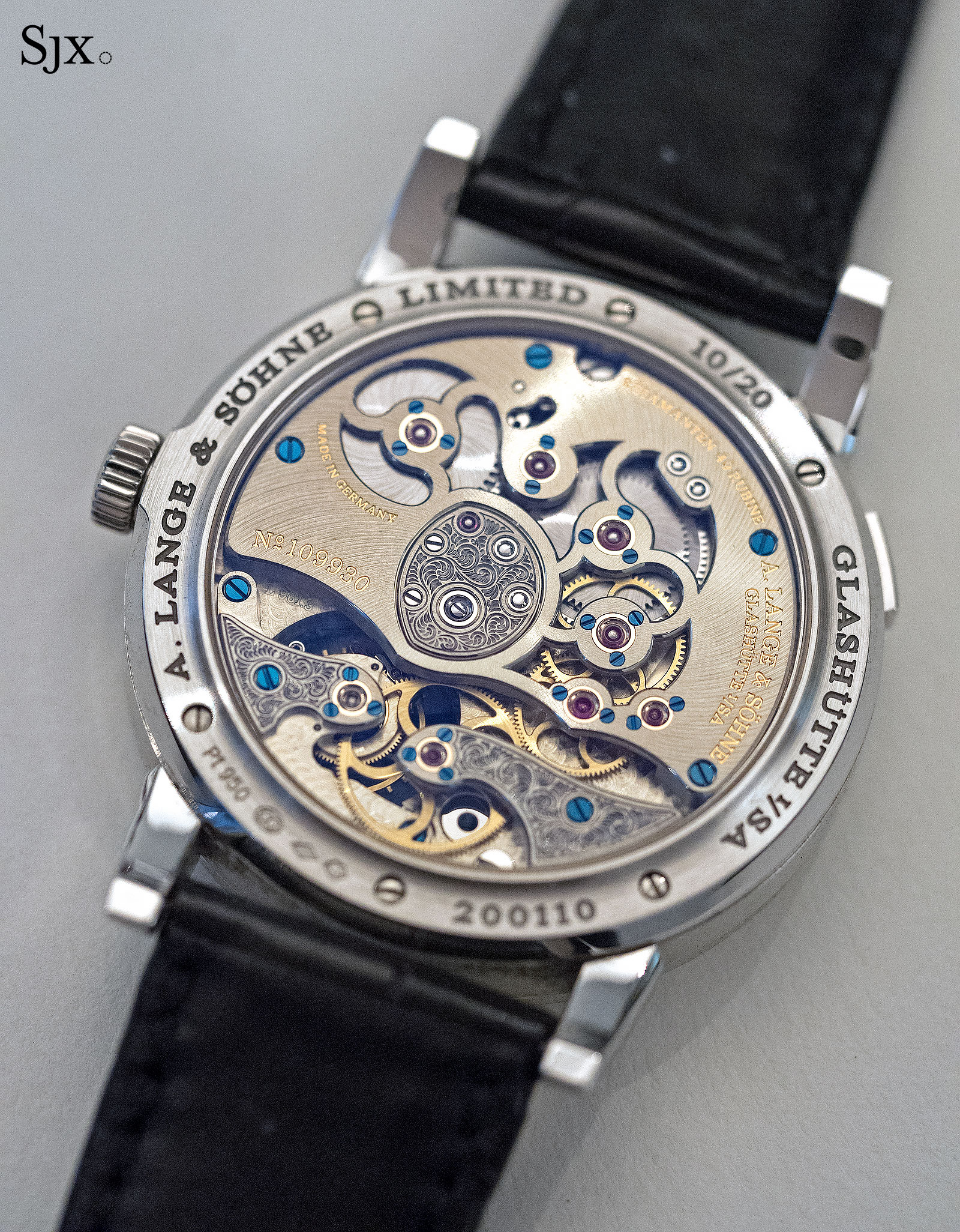 Lange 1 Tourbillon Handwerkskunst Phillips 3