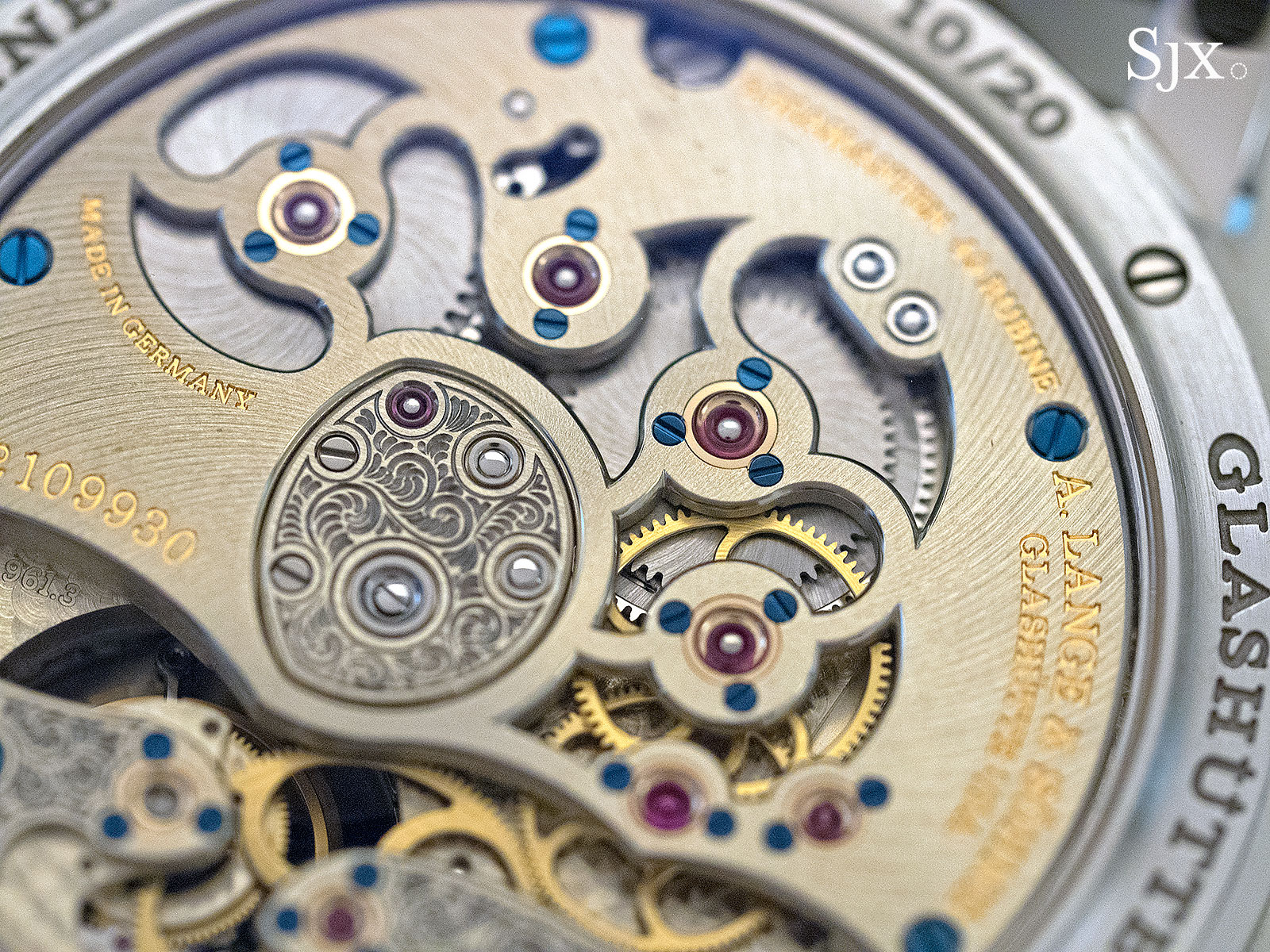 Lange 1 Tourbillon Handwerkskunst Phillips 4