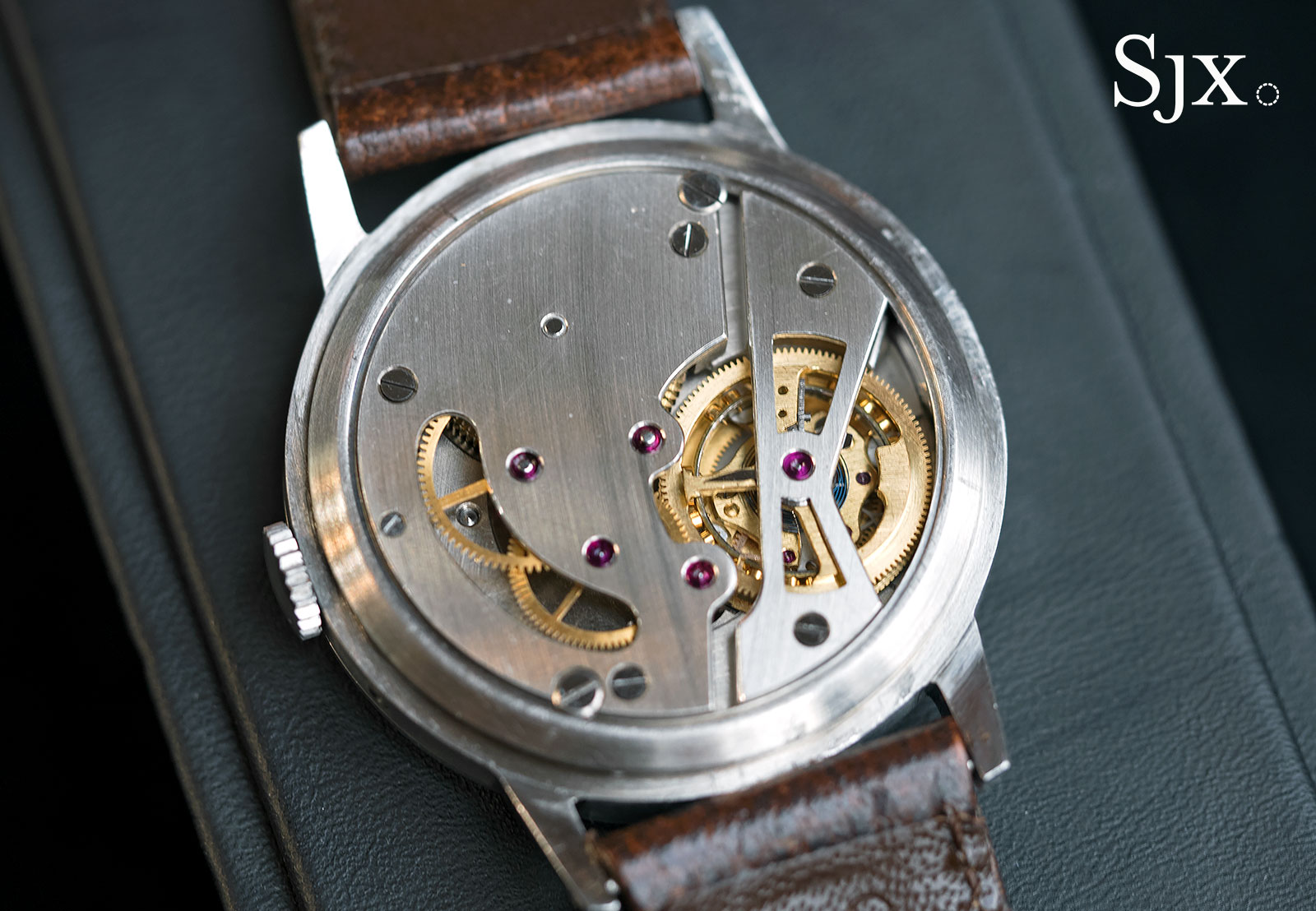 Omega tourbillon wristwatch 1947 phillips 8