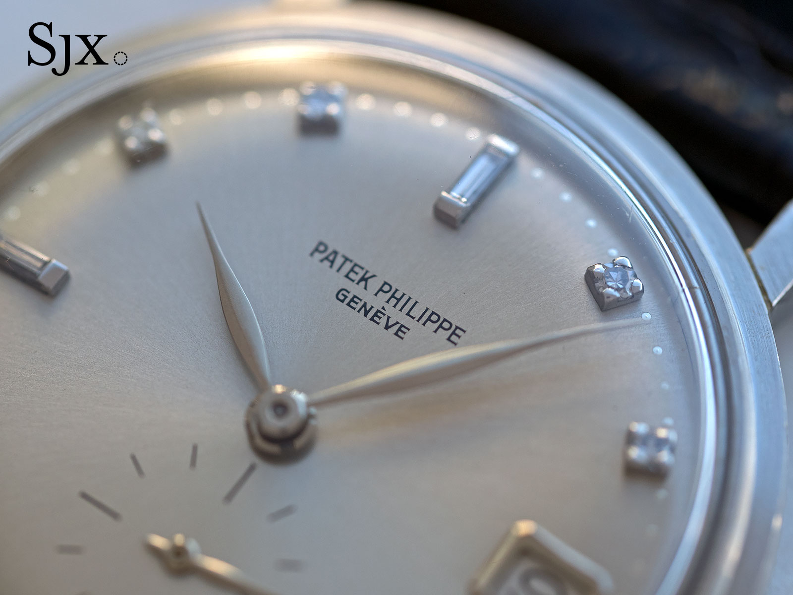 Patek 3445 platinum diamonds 2