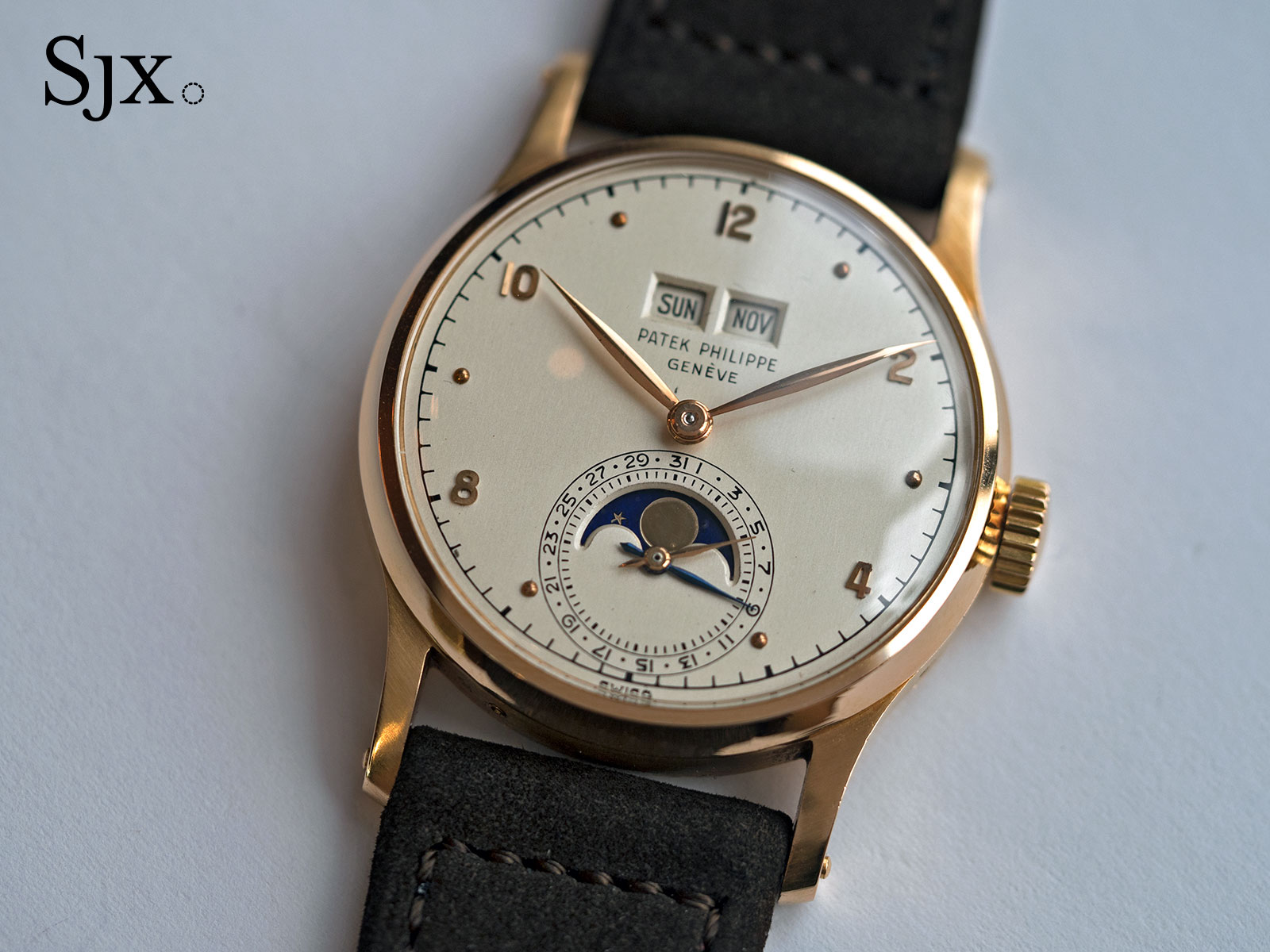 Patek Philippe 1526 pink gold Phillips 1