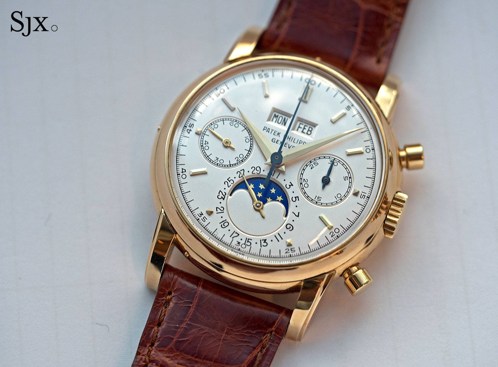 Patek Philippe 2499 third series yellow gold 1