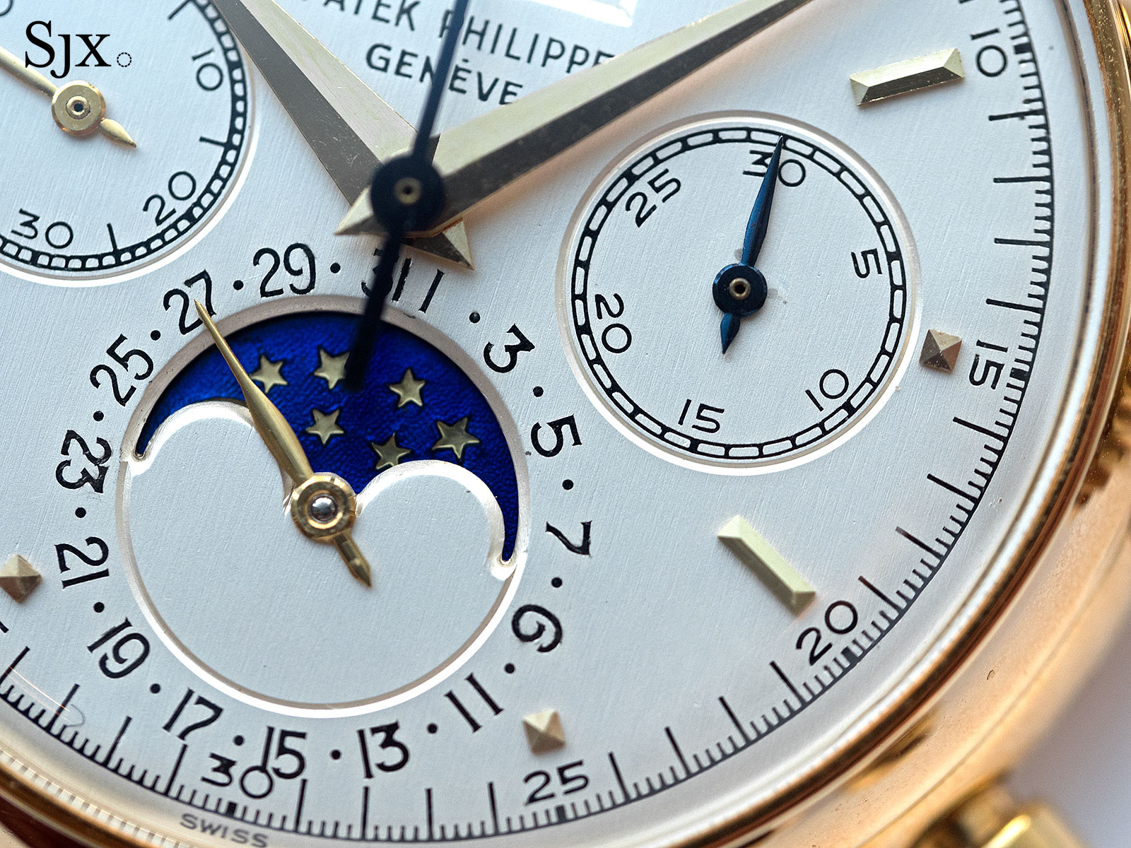 Patek Philippe 2499 third series yellow gold 2