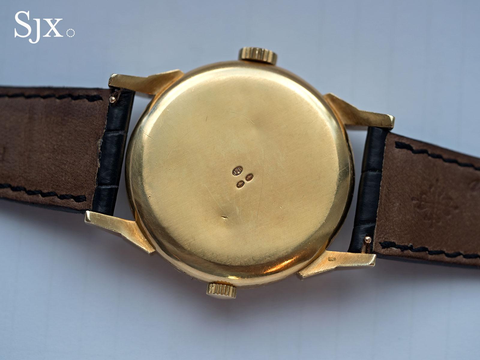 Patek Philippe 2523 gold guilloche 4