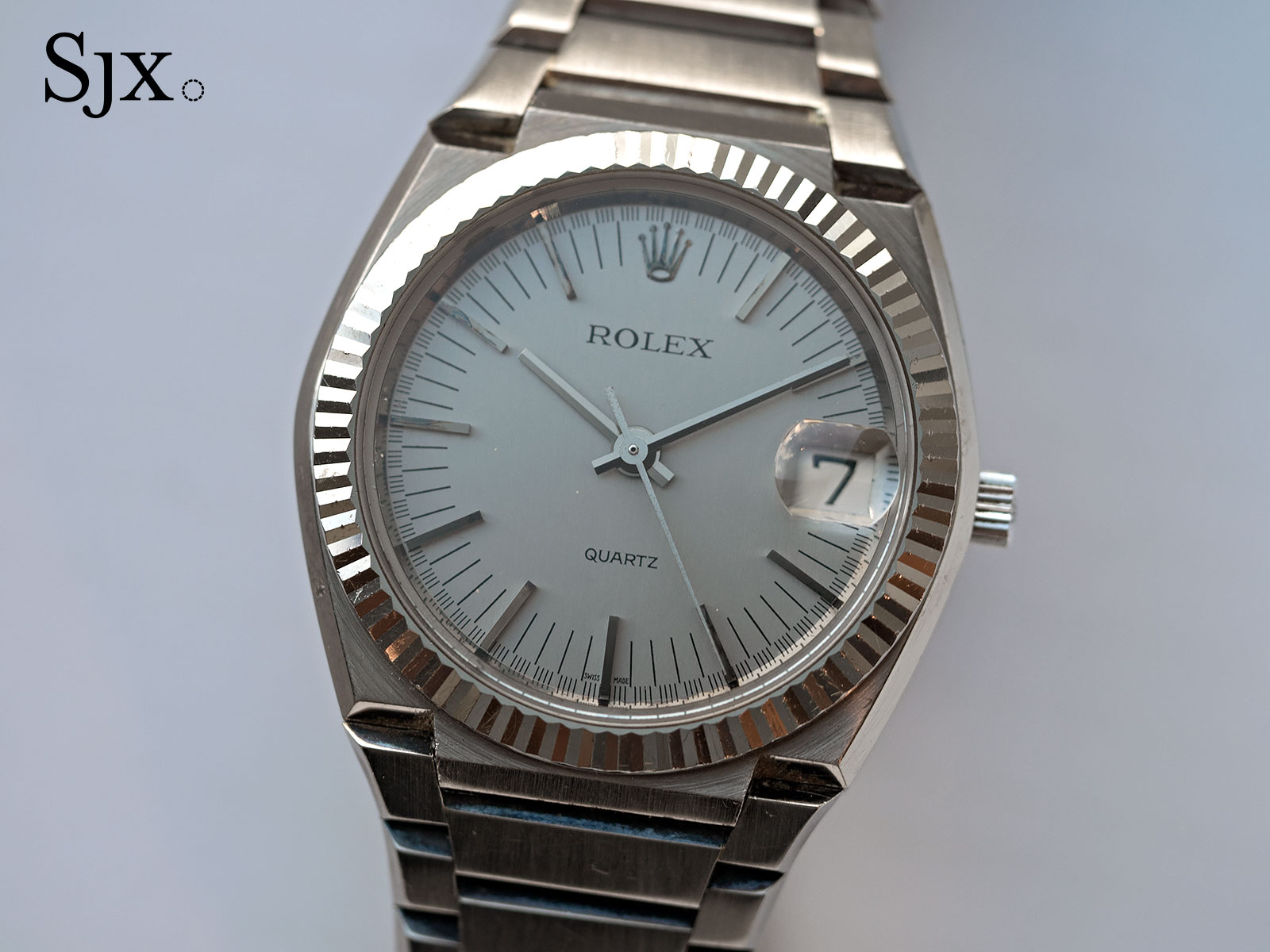 Rolex Beta 21 white gold 1