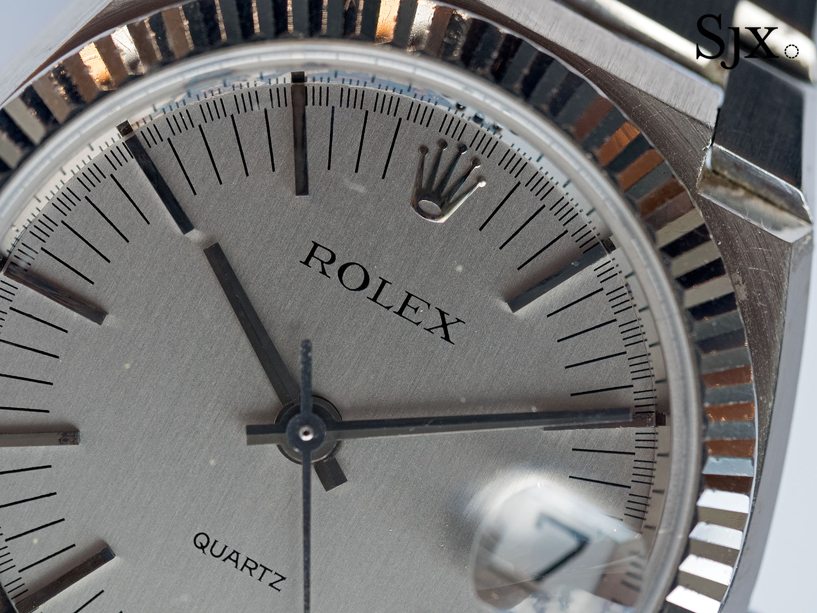 Rolex Beta 21 white gold 4