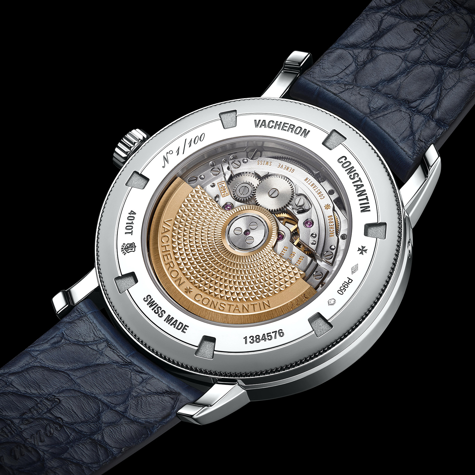 TRADITIONNELLE COMPLETE CALENDAR Collection Excellence Platine