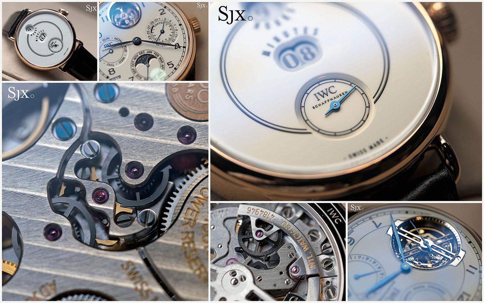 IWC 150th Anniversary Jubilee collection collage