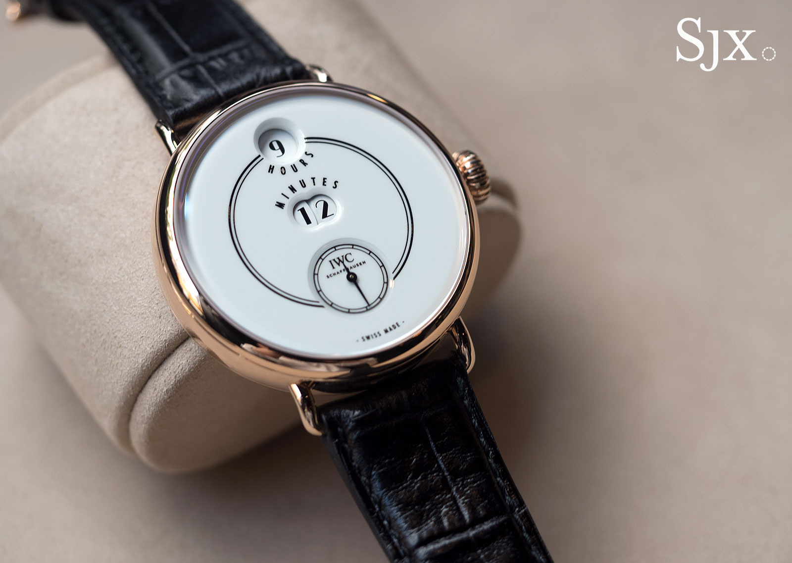 IWC Tribute to Pallweber 150 Years red gold 11
