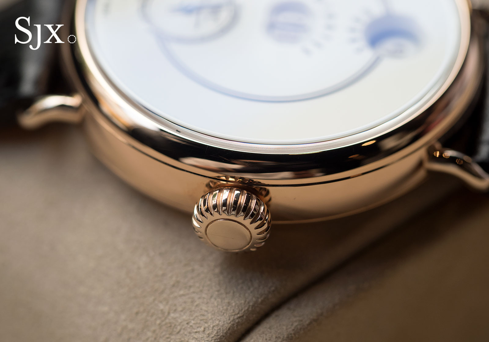 IWC Tribute to Pallweber 150 Years red gold 3