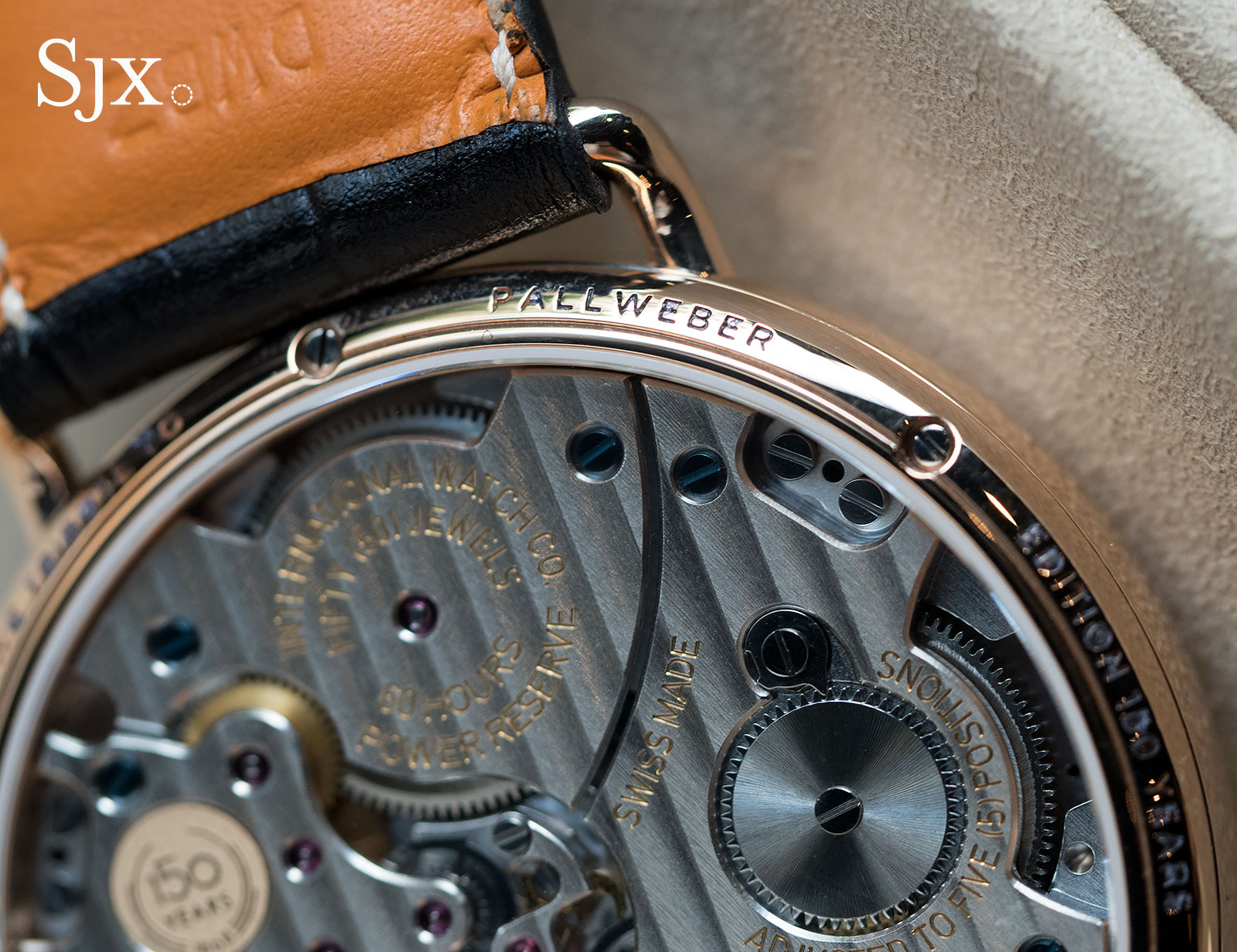 IWC Tribute to Pallweber 150 Years red gold 7