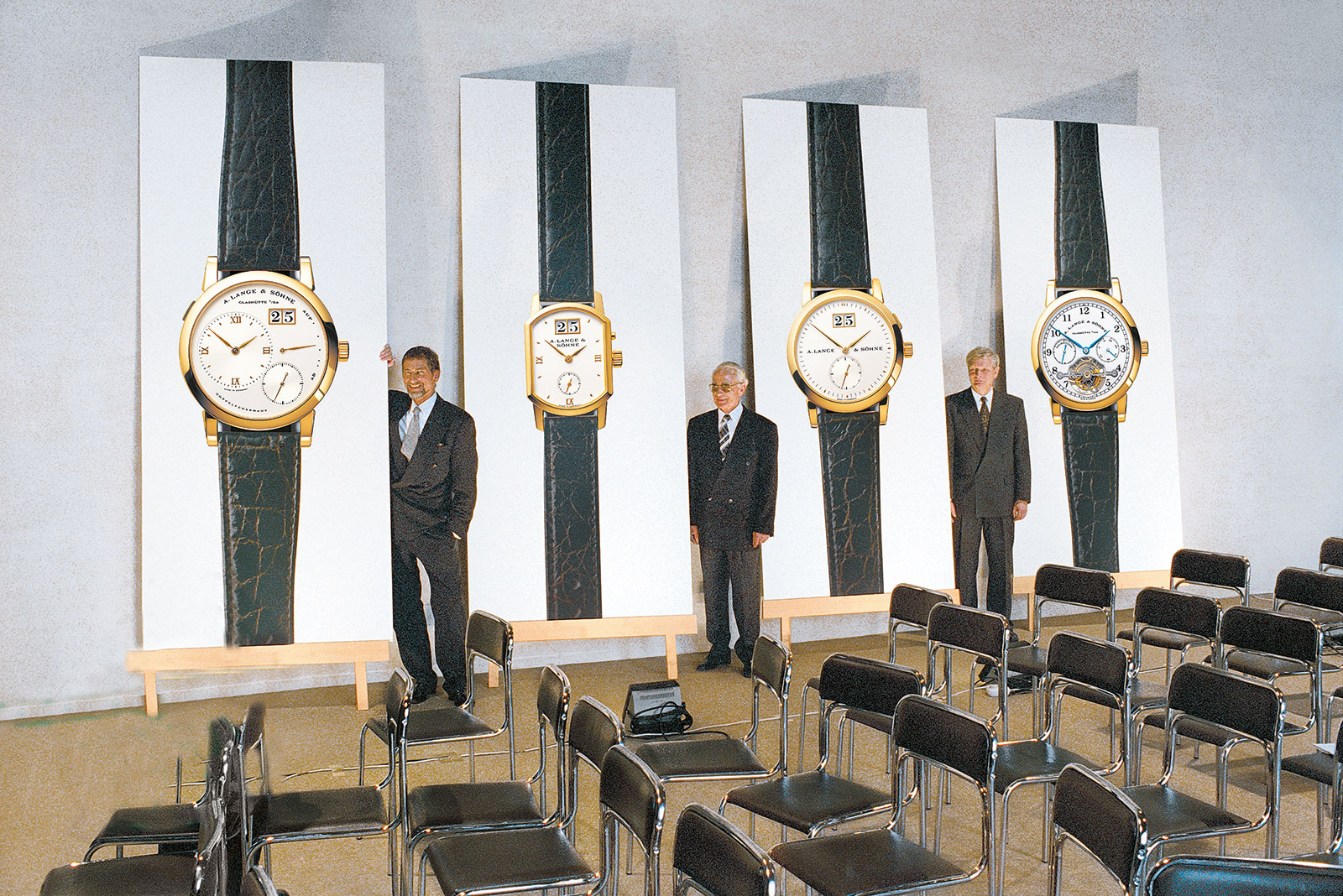 Lange launch first presentation 1994