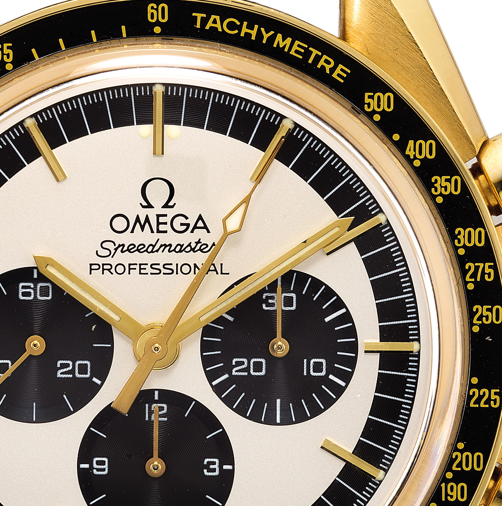 Omega Speedmaster Golden Panda Phillips 3