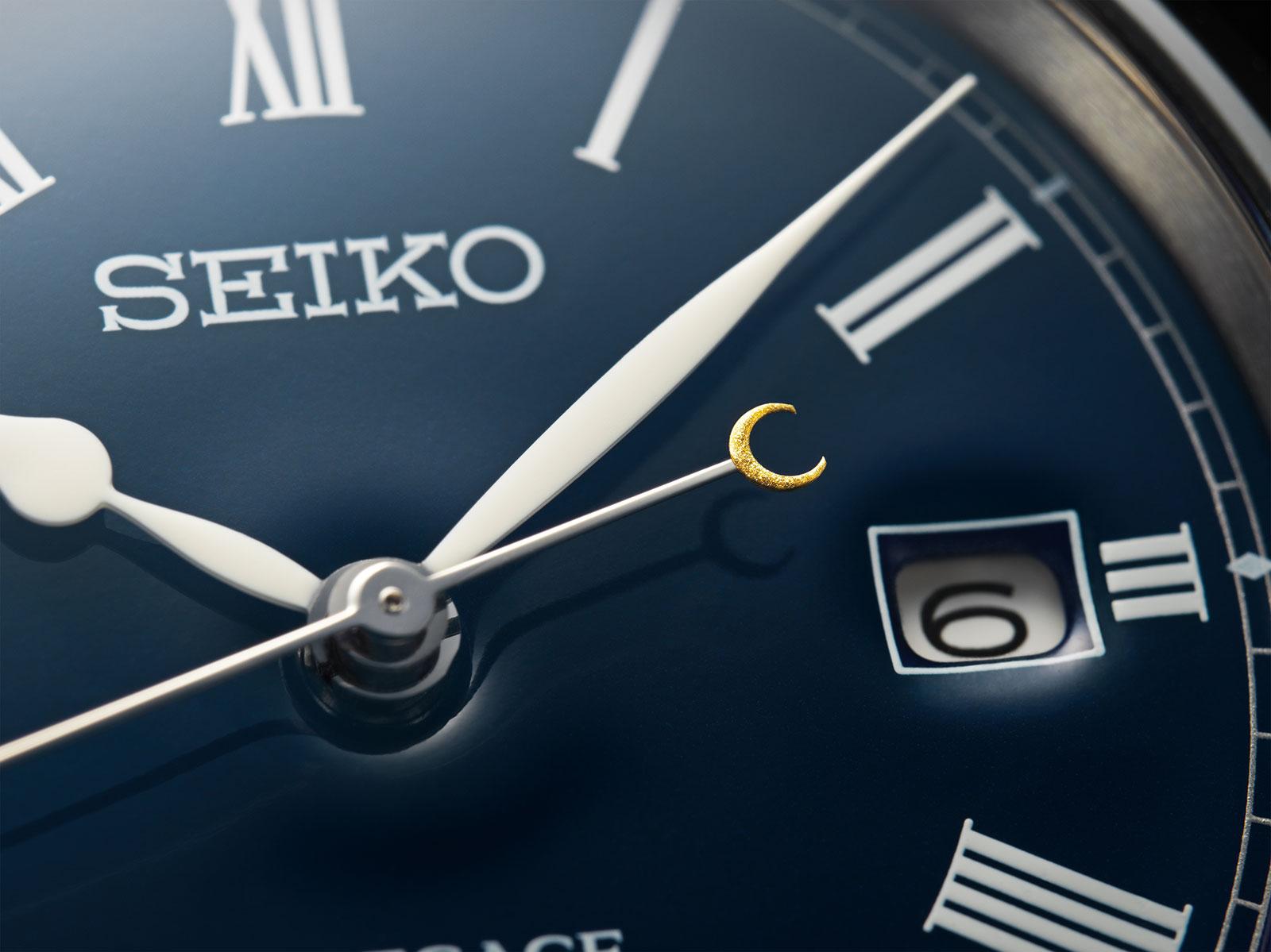 Seiko Presage Blue Enamel Limited Edition SPB069 3