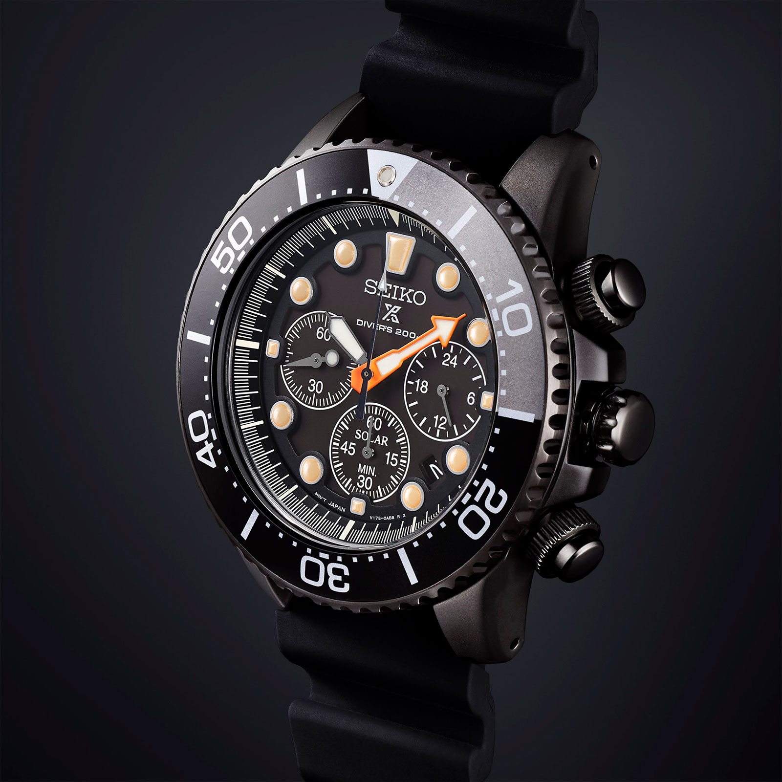 Seiko Prospex Black Series SSC673
