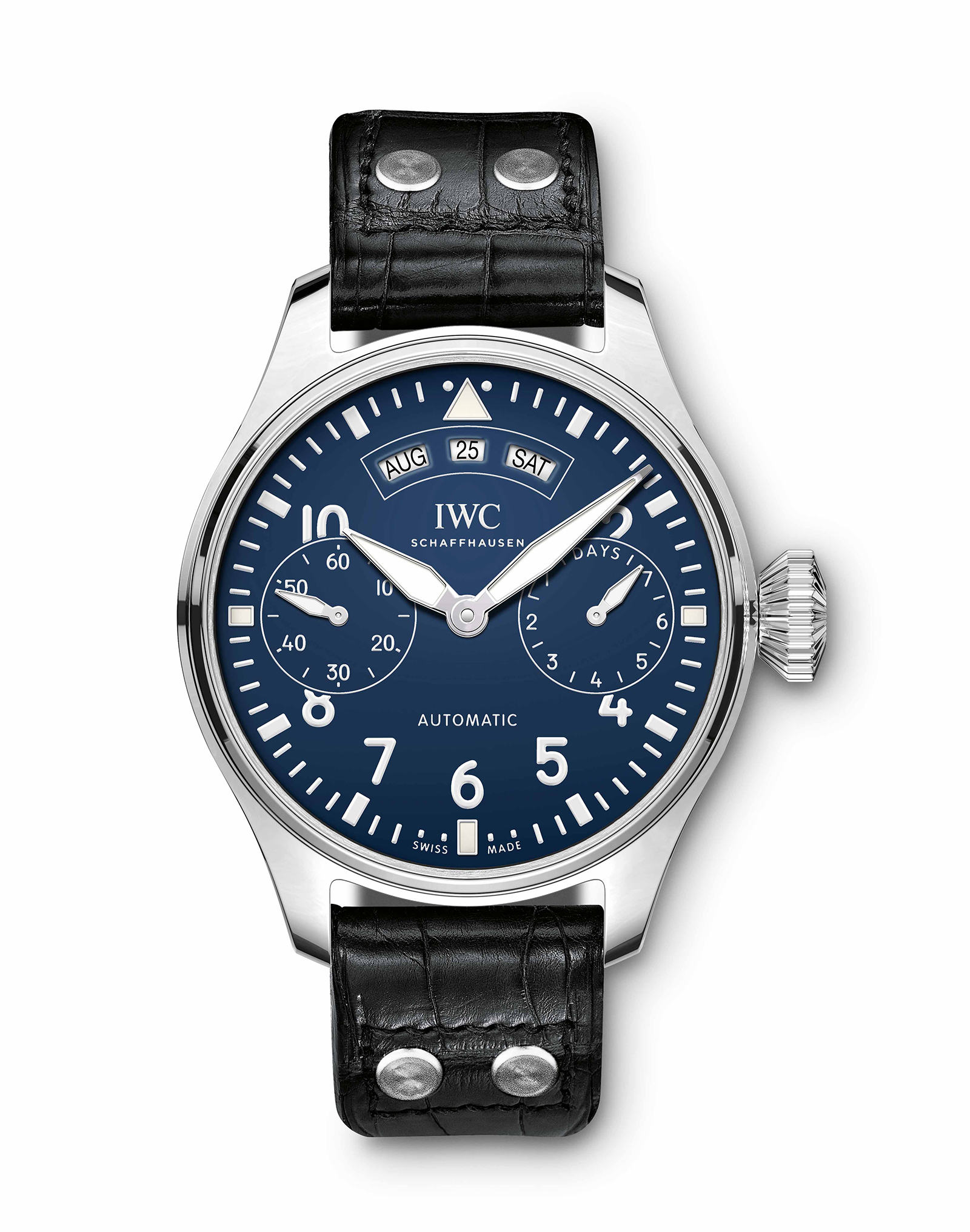 "Big Pilot's Watch iwc Annual Calendar Edition ""150 Years"""