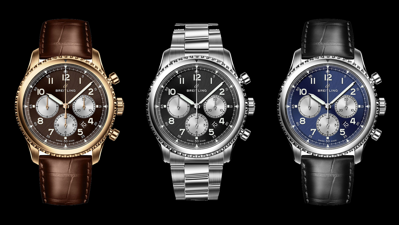 Breitling S Rebirth Begins With The Navitimer 8 Collection With