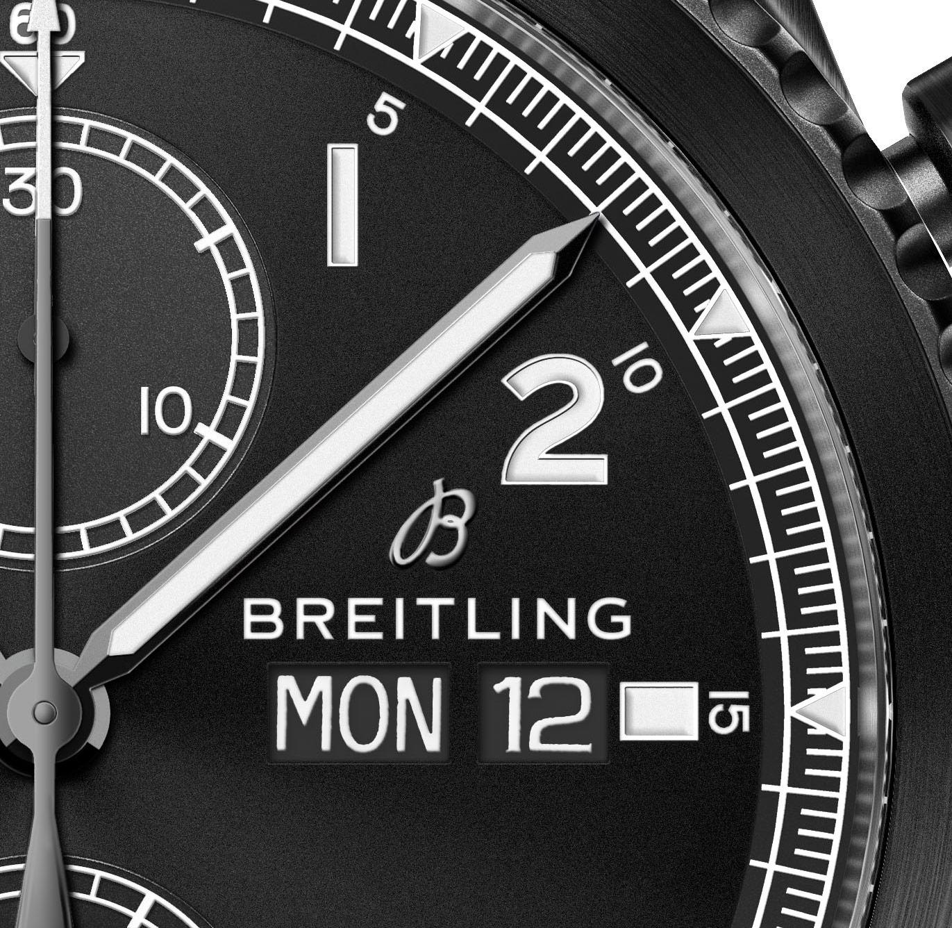Breitling Navitimer 8 Chronograph dial