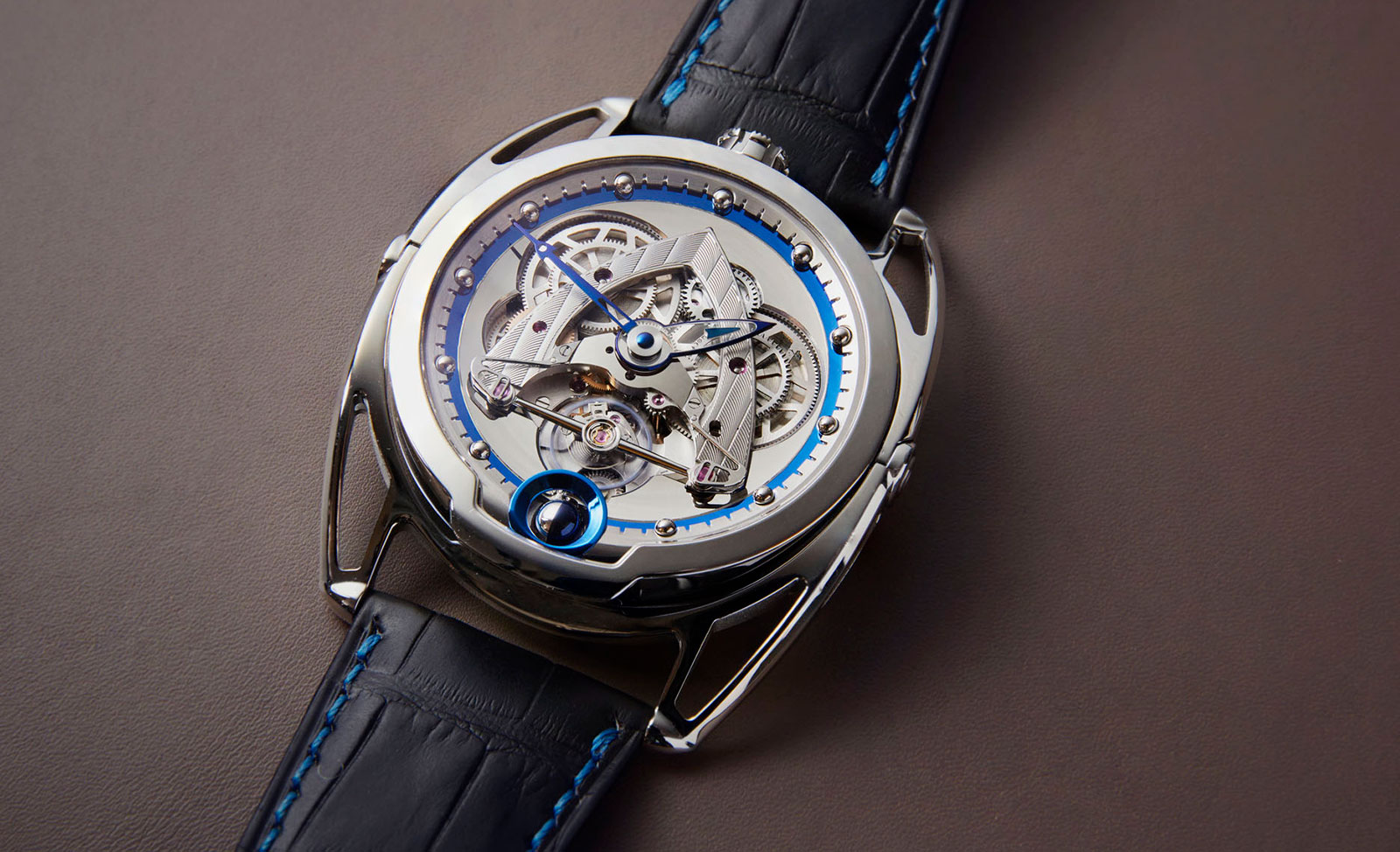 De Bethune DB28 steel wheels watch 1