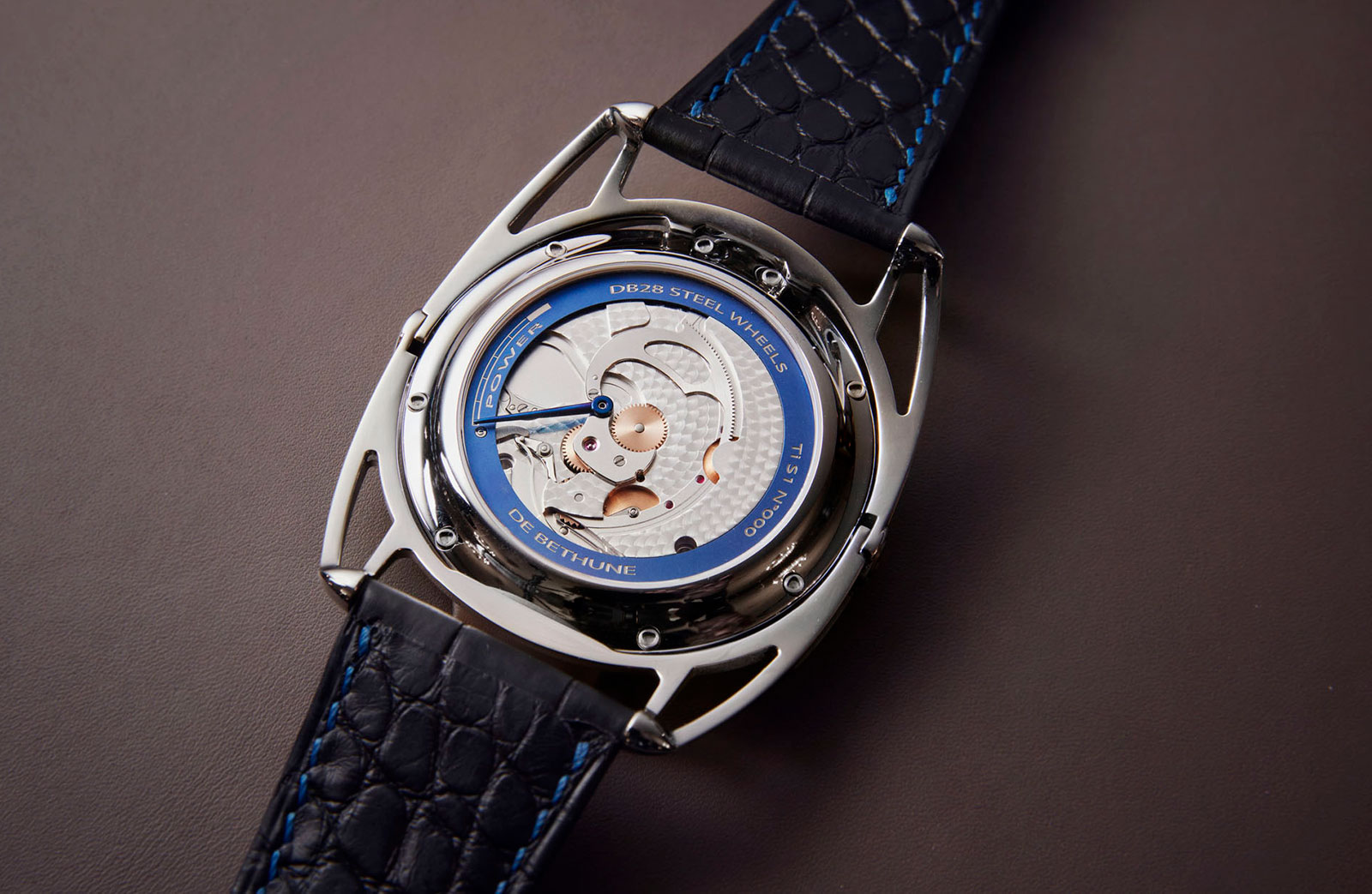 De Bethune DB28 steel wheels watch 2