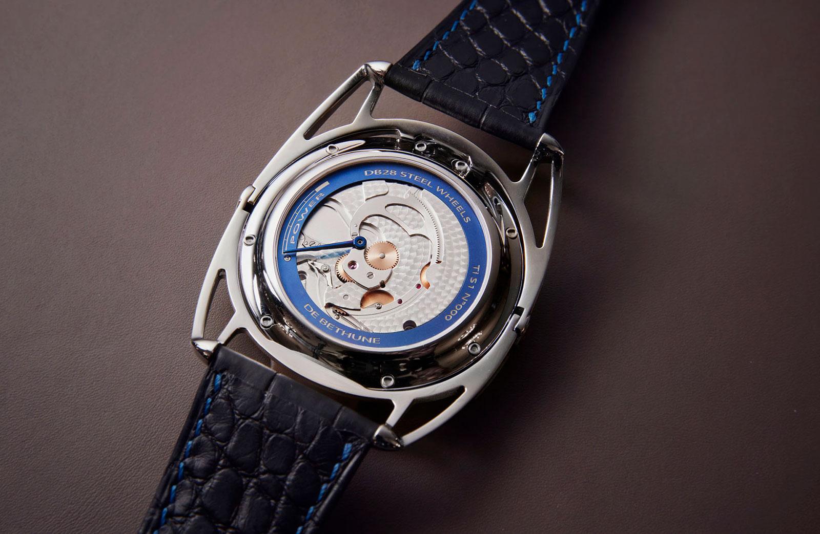 De Bethune DB28 steel wheels watch 2