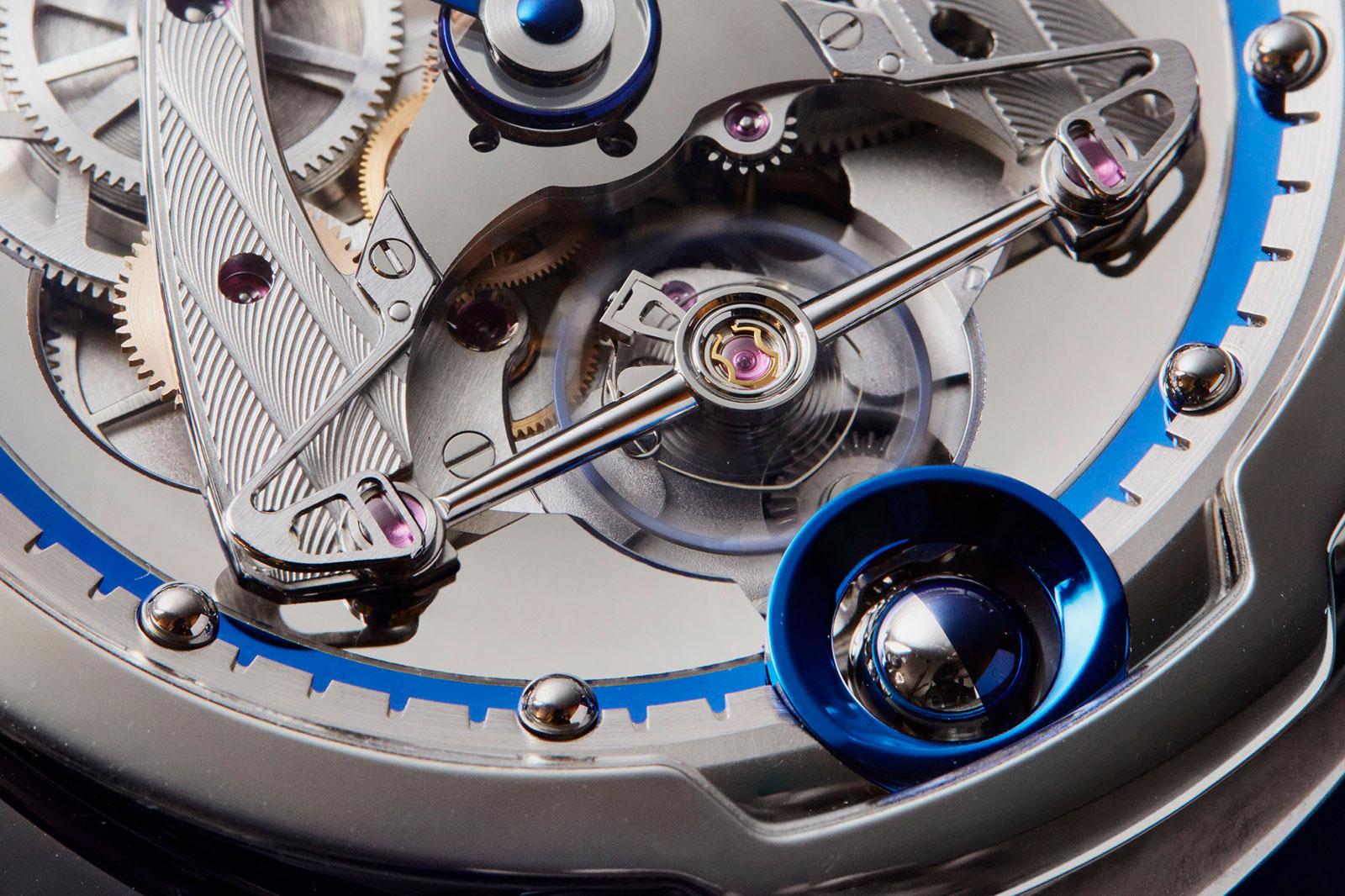 De Bethune DB28 steel wheels watch 3