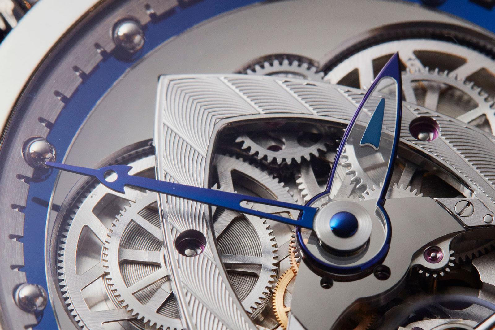 De Bethune DB28 steel wheels watch 4