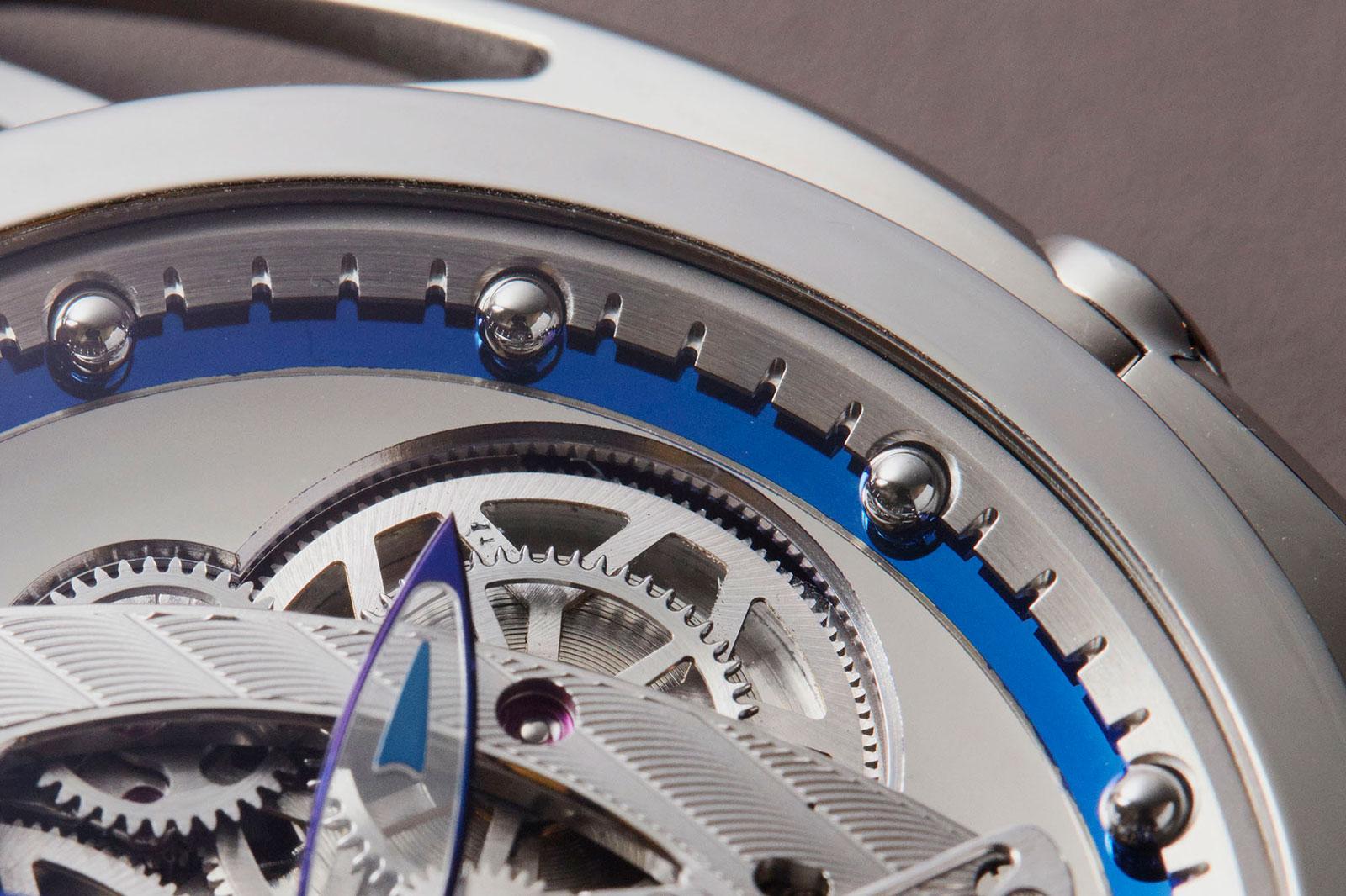 De Bethune DB28 steel wheels watch 5